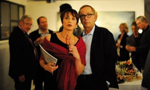 Germain (Fabrice Luchini) and Jeanne (Kristin Scott Thomas) in In the House
