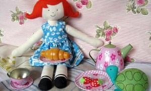 Maisie the Red Nose Day doll