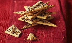 Gluten-free nut crackers