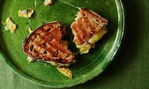 Bill Oglethorpe's Borough Market three-cheese toastie