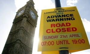 Virgin London Marathon 2013 preparations
