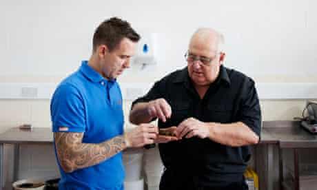 David and Tony Walker of Dorset Snails
