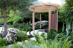 Rhododendrons: Tom Hoblyn's Cornish memories garden at the Chelsea flower show 2011