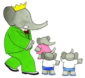 Babar the Elephant: Babar counting