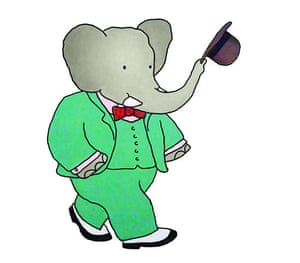 Babar the Elephant: Babar in his suit and hat