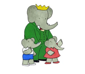 Babar the Elephant: Babar and his family
