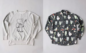 Babar the Elephant: Sweatshirt and shirt from Soulland's Babar collection