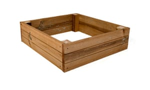 Raised bed for gardens