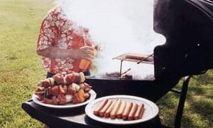 Smoking barbecue