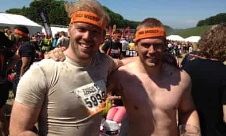 Triumphant Tough Mudders, the brothers Heritage
