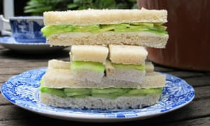 perfect cucumber sandwiches