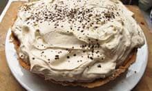 Ian Dowding's banoffee pie