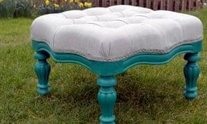 Kim's finished stool