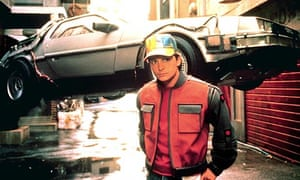 Michael J Fox in Back to the Future II
