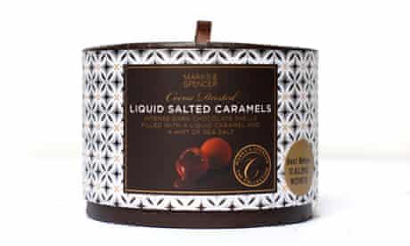 Marks & Spencer liquid salted caramels