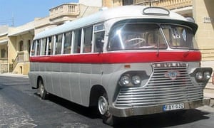 A Gozo bus, as spotted by Gozo/Busman