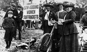 Suffragettes in 1913