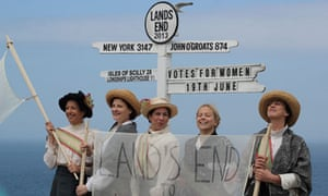 Dreadnought South West's show about the great suffrage pilgrimage