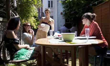 Get togethers: chat in the garden