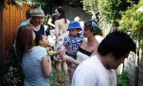 Get togethers: outdoor scene