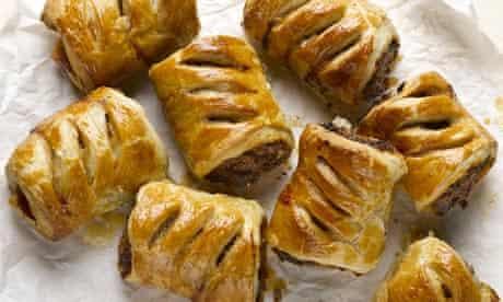 Yotam Ottolenghi's merguez sausage rolls