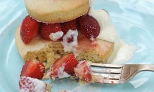 Dan's second recipe: strawberry shortcake