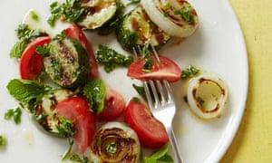 10 best salad drawer recipes: grilled cucumber