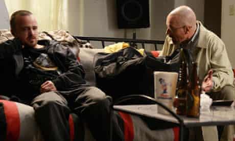Jesse Pinkman and Walter White in Breaking Bad season five, episode nine