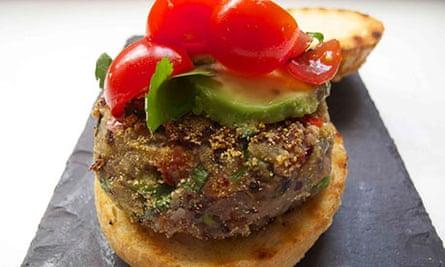 Felicity Cloake's perfect beanburger