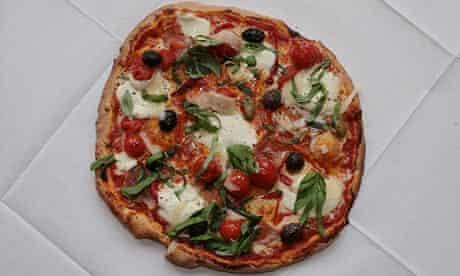 La Fiamma's pizza