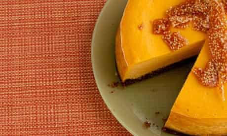 Dan MAIN: pumpkin cheesecake
