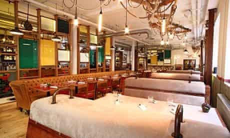 The Tanner & Co restaurant in Bermondsey, London