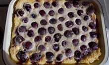 Master Chefs of France's cherry clafoutis