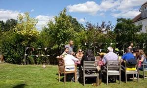 Get-togethers: tea in the garden
