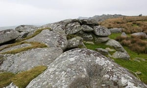 Granite boulders on Bodmin Moor
