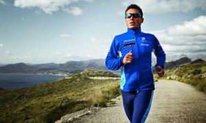 World triathlon champion Javier Gomez