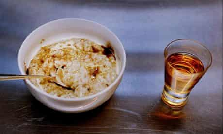 Porridge and whisky