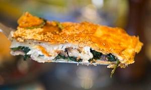 Karen's spinach and cheese boureka