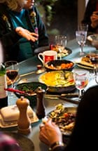 Get togethers: Jewish women who meet every couple of months to eat, talk and discuss Jewish issues
