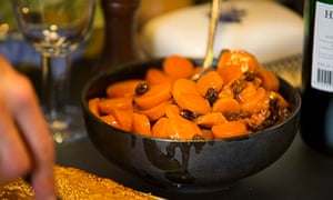 Get togethers: carrot tzimmes