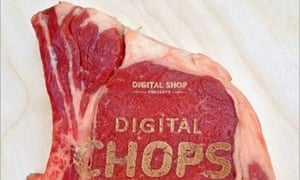 Laser-etched meat by IDEO