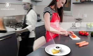 Electrolux Design Lab's holographic chef