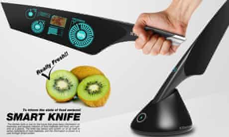 Smart Knife by Jeon Chang Dae for Electrolux Design Lab
