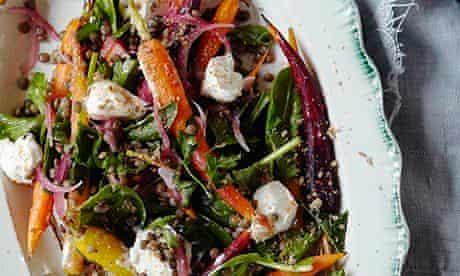 lentil and carrot salad-10 best recipes