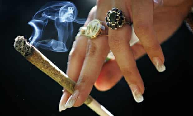 A cannabis joint