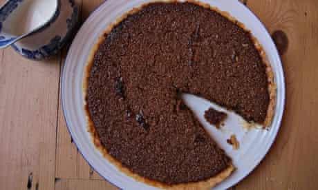 Felicity Cloake's perfect treacle tart.