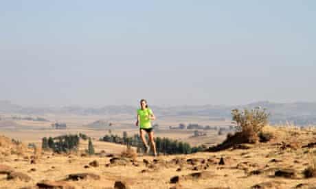 Julia Bleasdale training in Ethiopia
