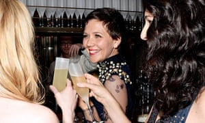 Maggie Gyllenhaal at the Weinstein Company/Pathé Bafta party