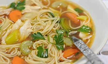 back to basics chicken soup