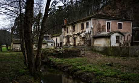 One of the abandoned hamlets for sale in Spain